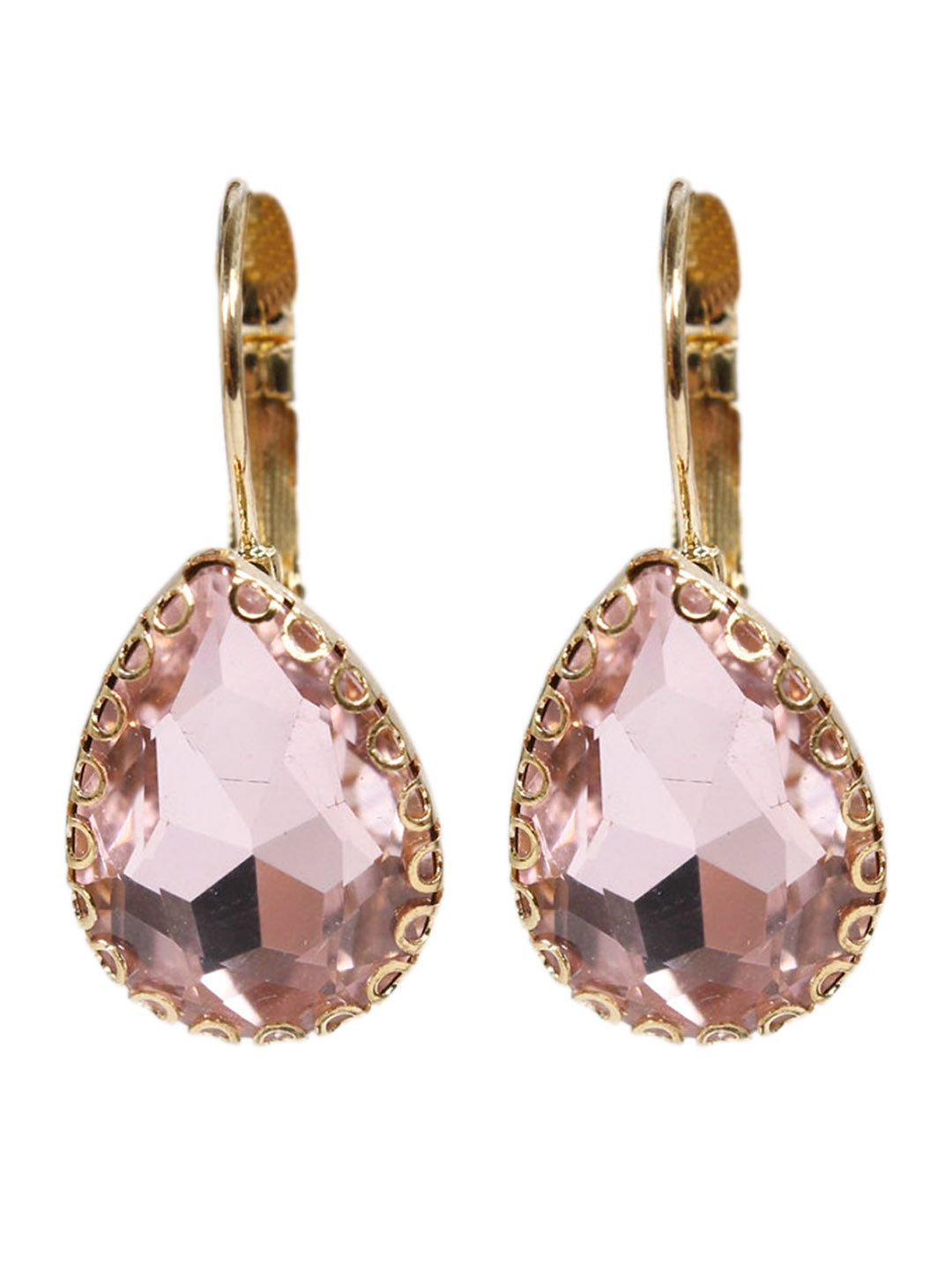 Aana Rose Pear Drop Design Earring-AANA1-Earring
