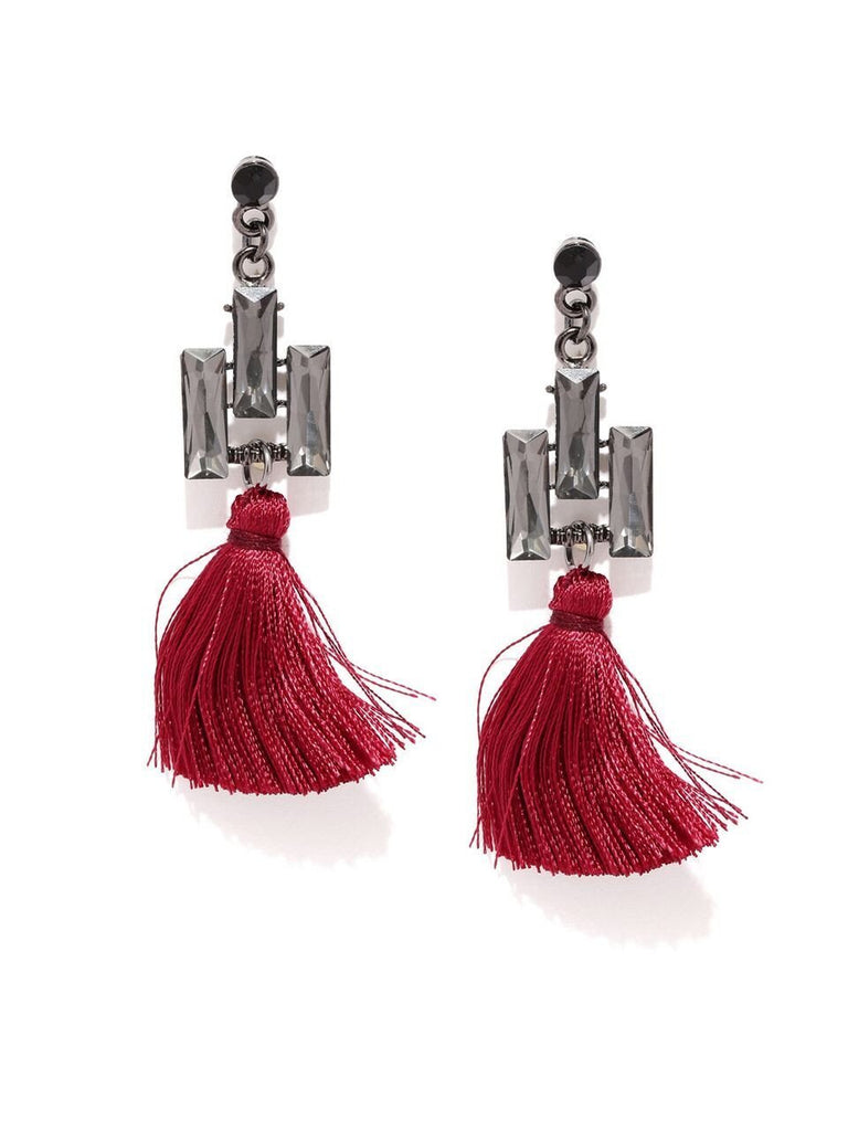 Kristen Tasseled Earrings