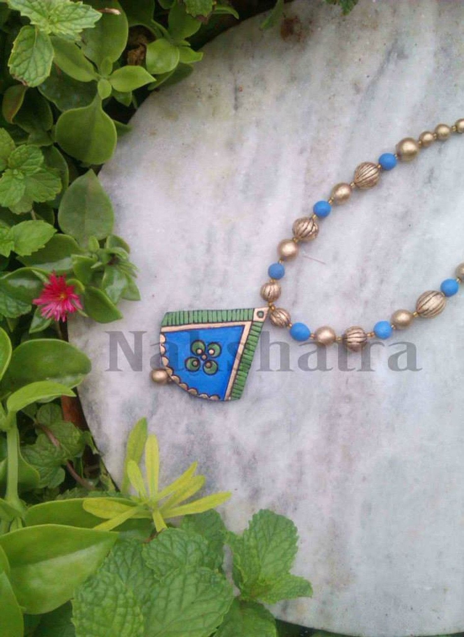 Terracotta  Necklace By Nakshatra For Dailywear