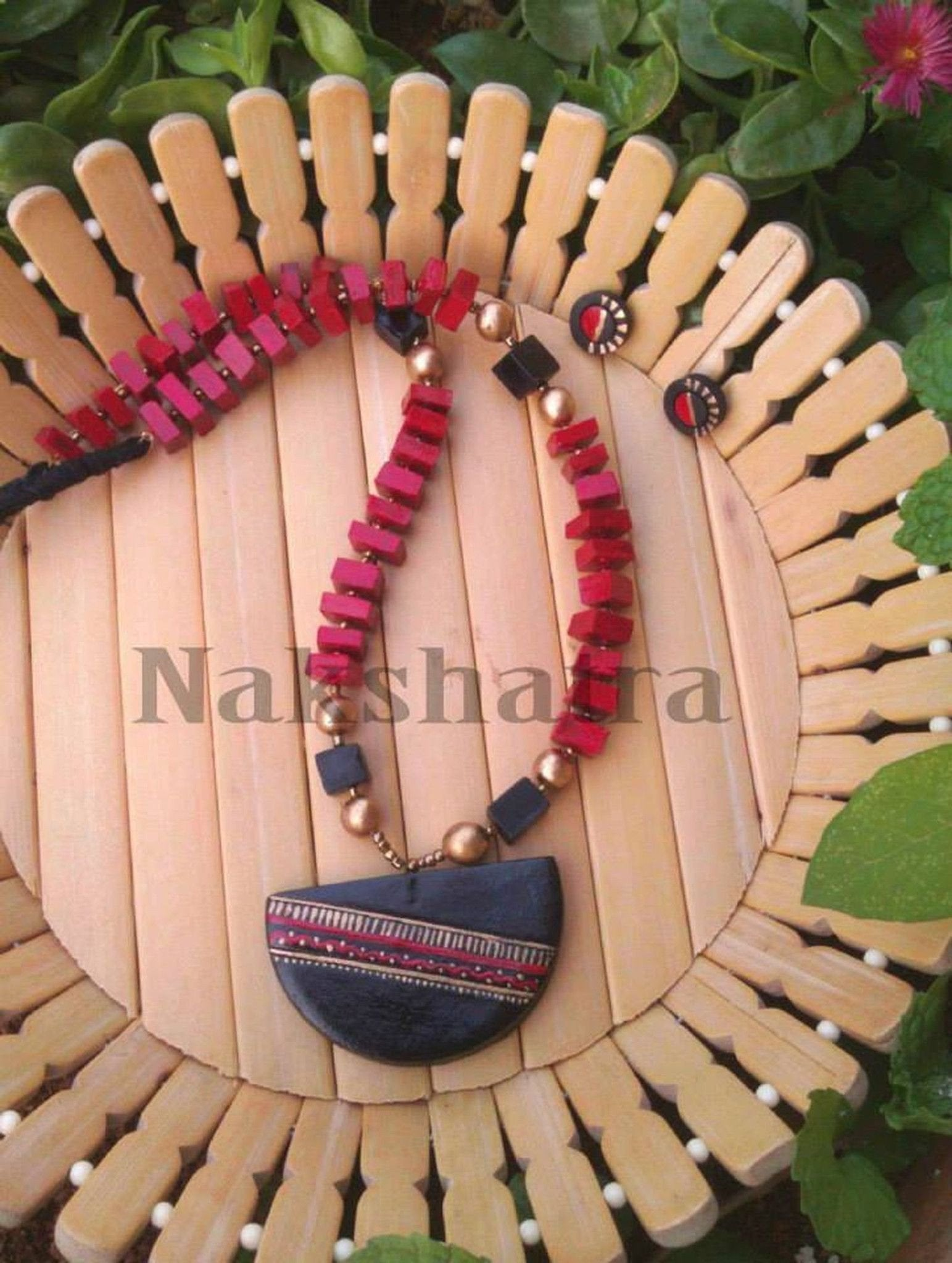 Terracotta Jewellery Necklace By Nakshatra