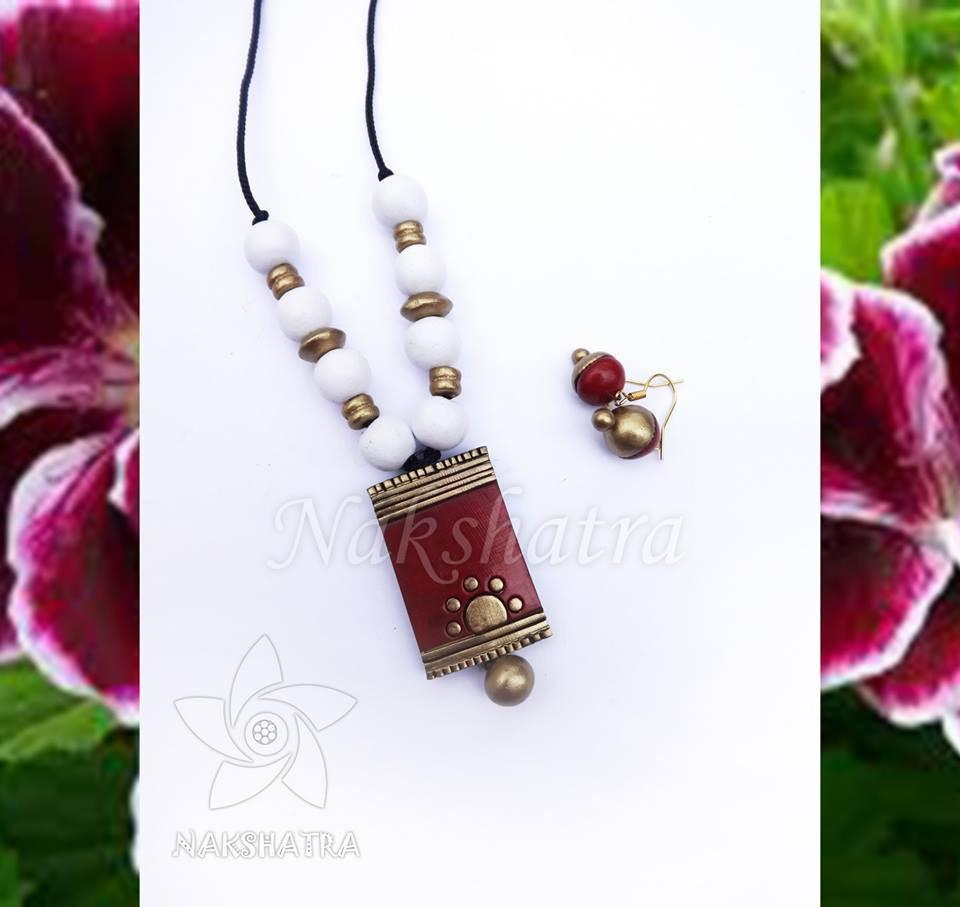 Terracotaa Necklace Set By Nakshatra