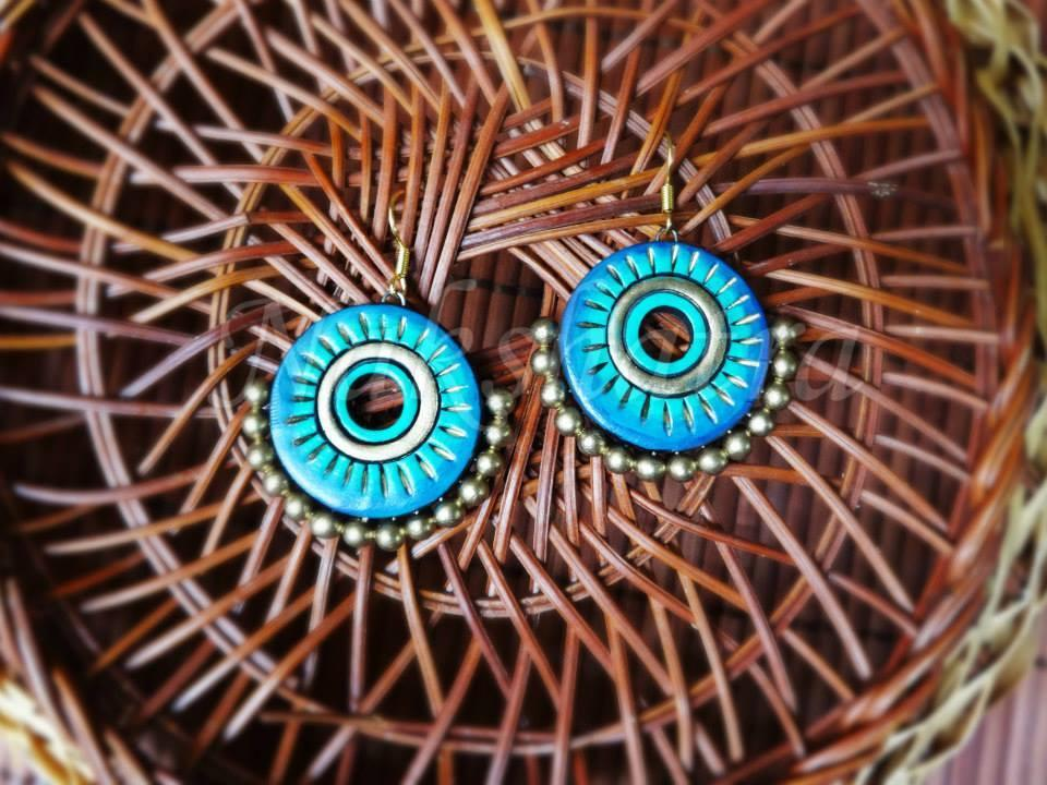 Terracotta Earrings By Nakshatra