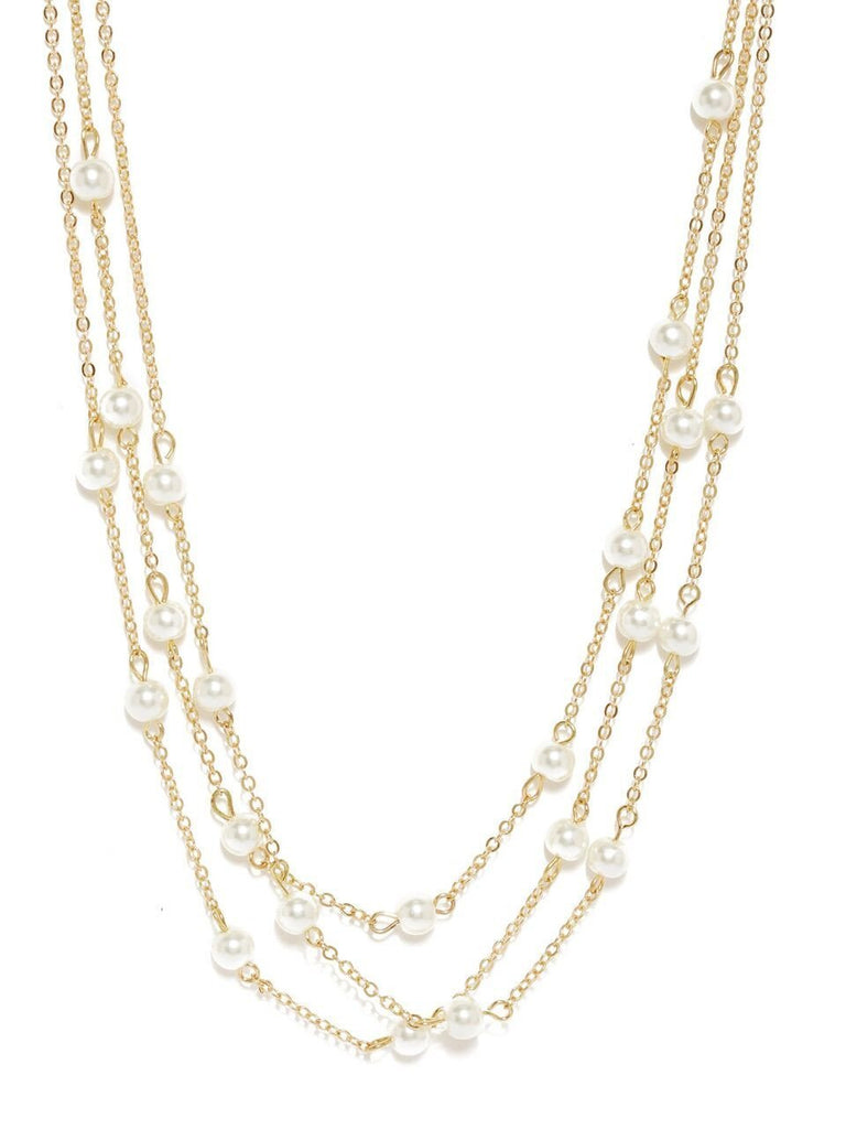 White Get It All Necklace