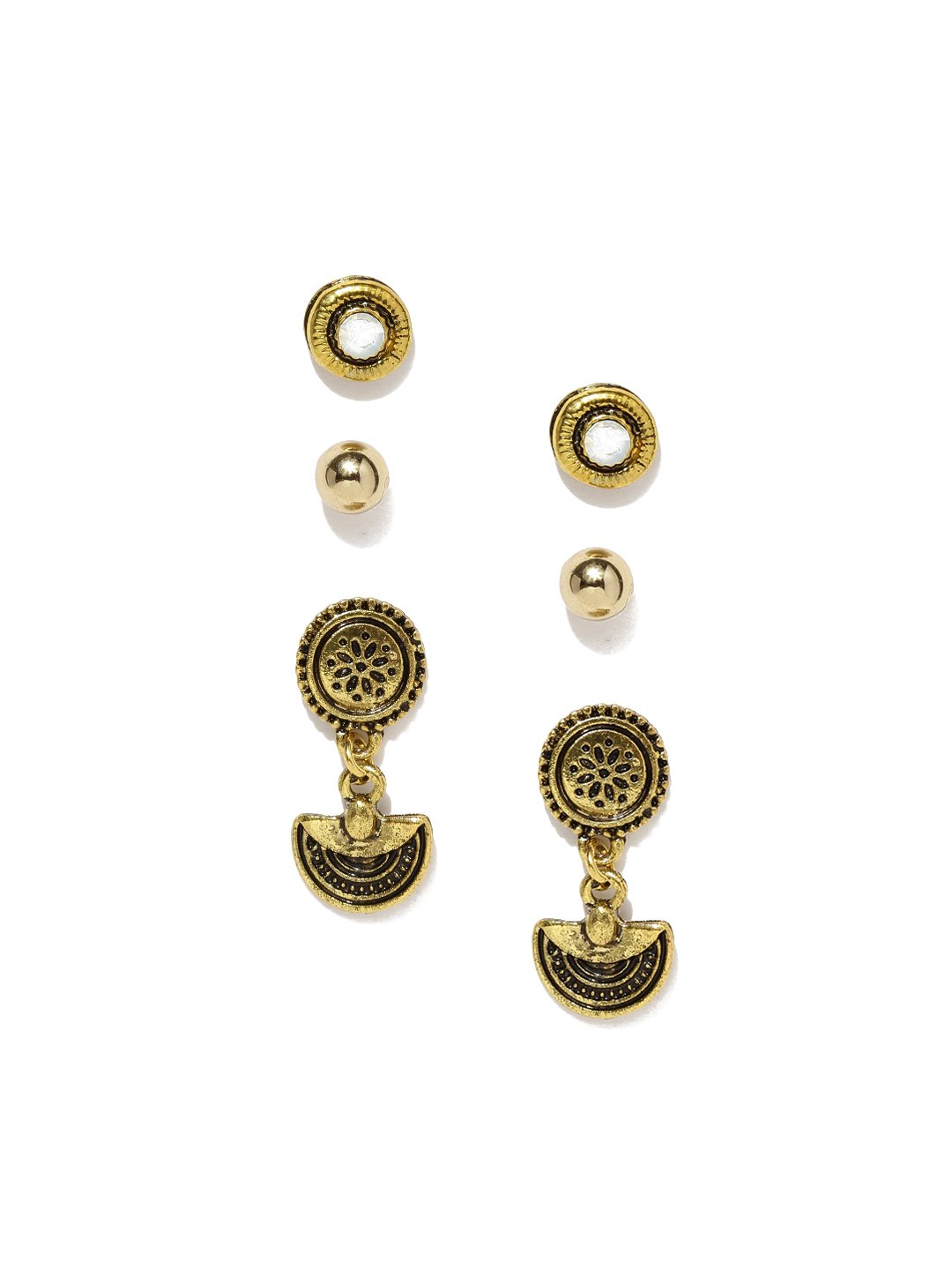 Bronze Multicolor Earring