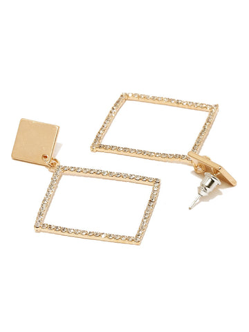 Wavering Rhombus Earring