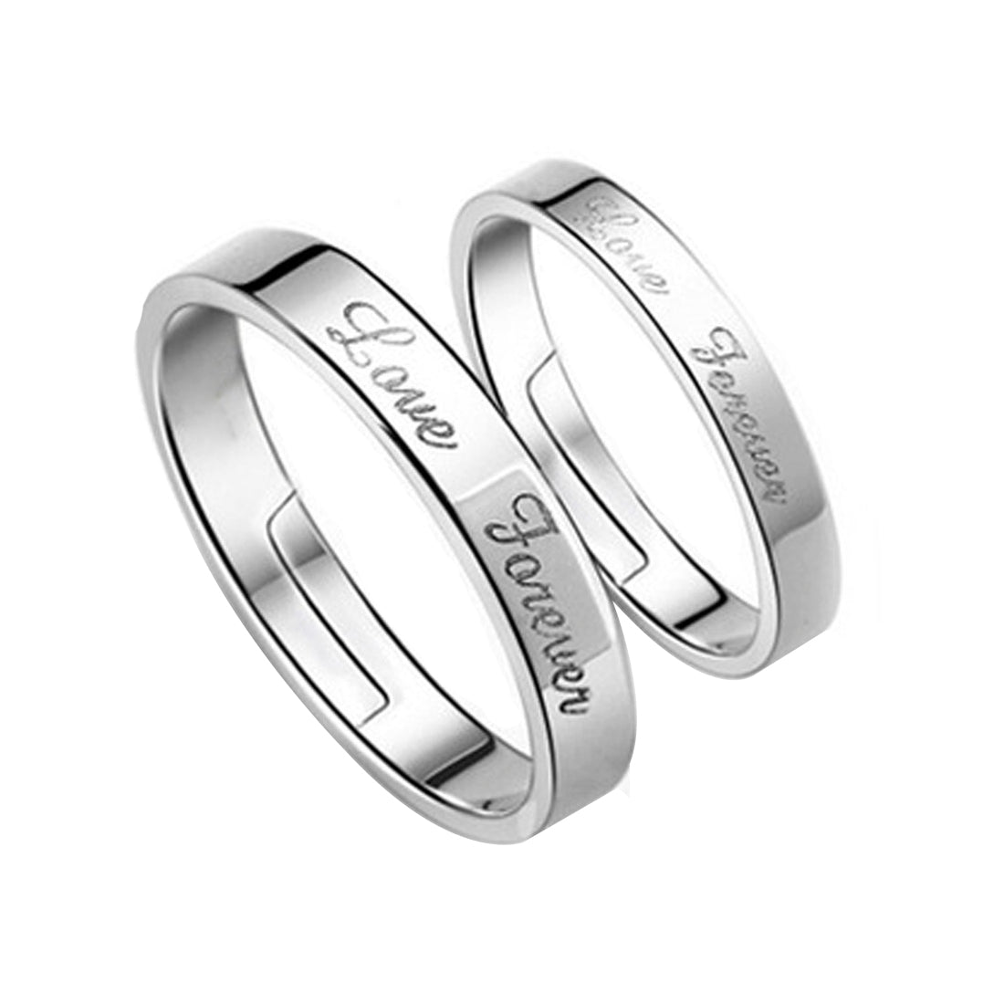 Love Forever Couple Ring