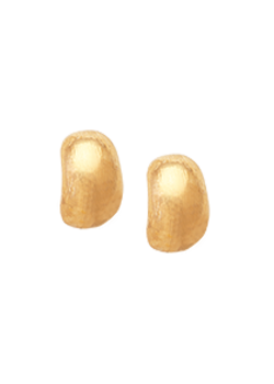 Classic Gold Huggies Earrings