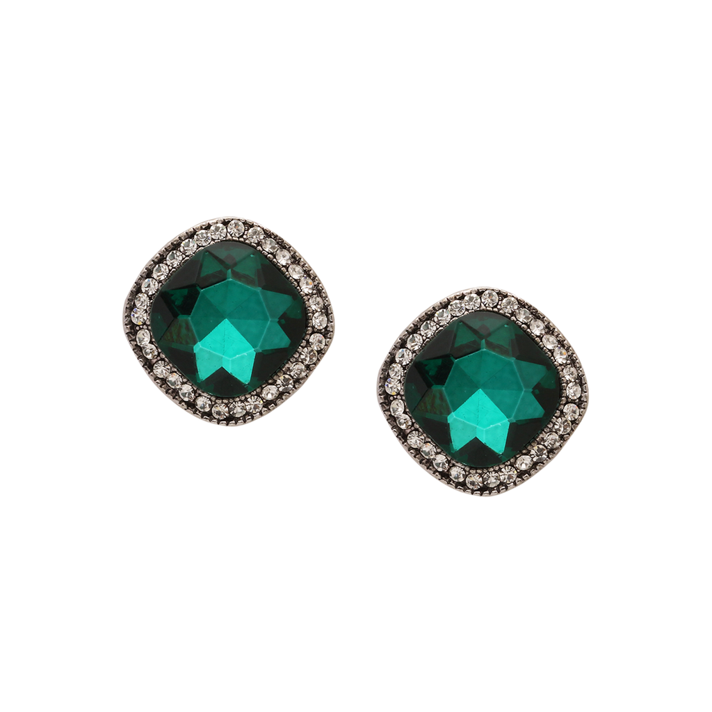 Classic Cushion Stud Earrings
