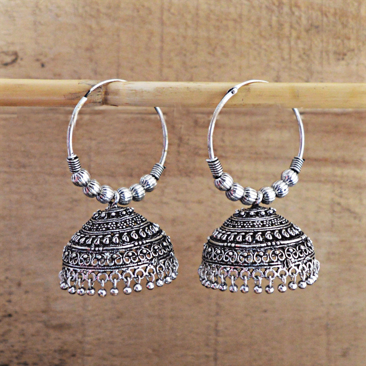 Antique GS Dangler Dome Jhumka