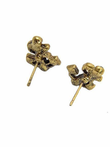 Blue Anchor Studs For Party Wear