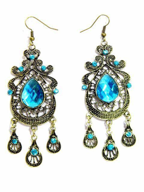 Vintage Blue Earrings