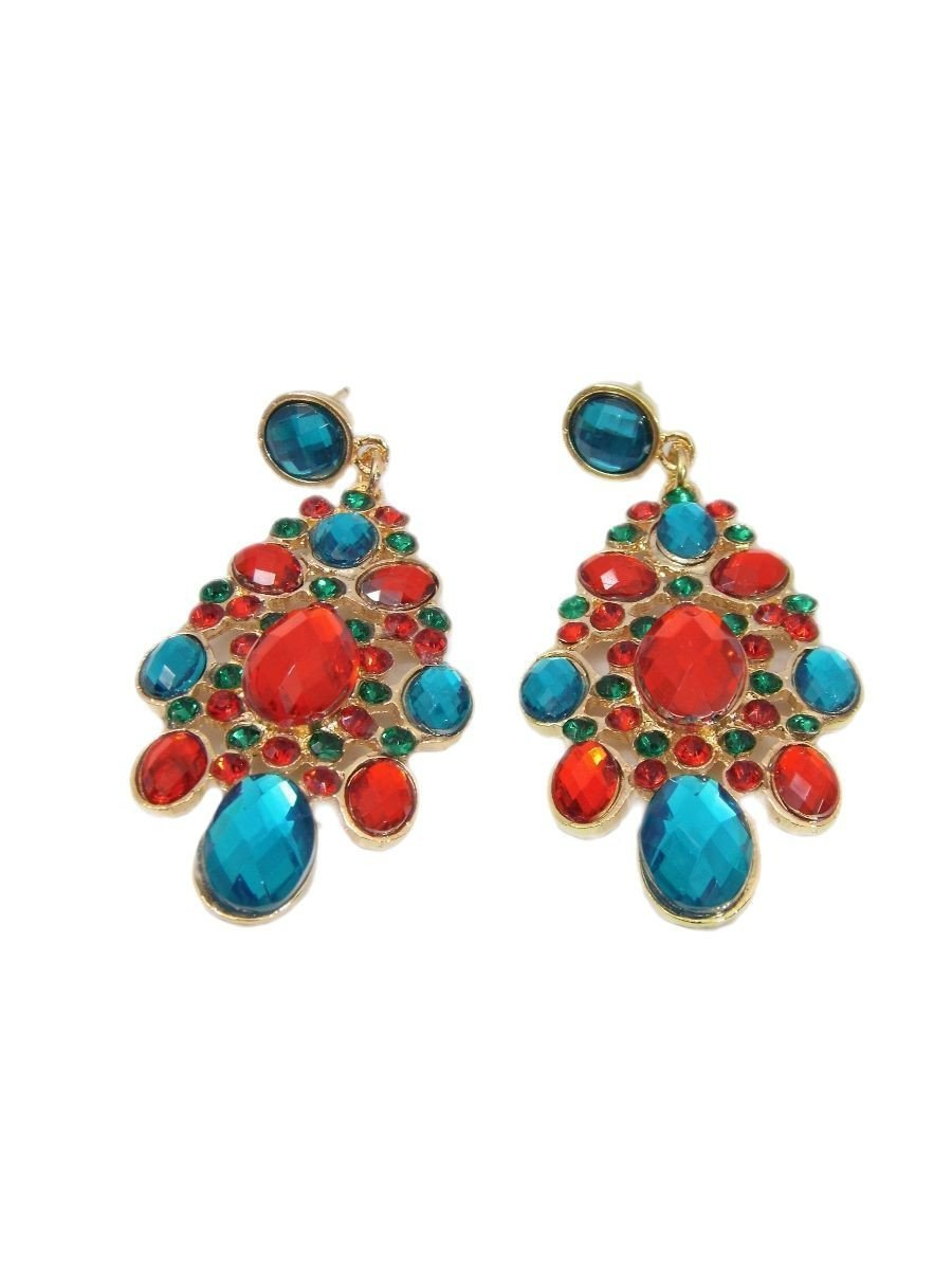 Multicolored Sparkly Earrings