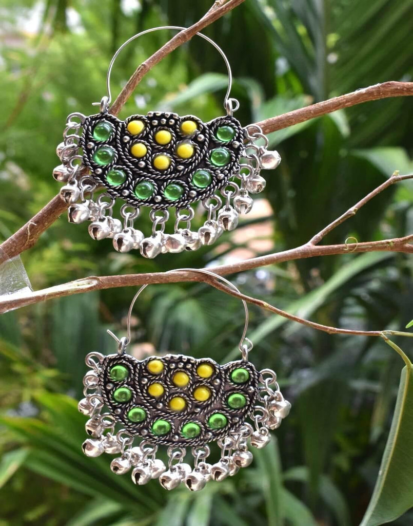 Afghani Earrings/Chandbalis In Alloy Metal 3