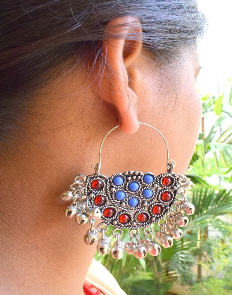Afghani Earrings/Chandbalis In Alloy Metal 4
