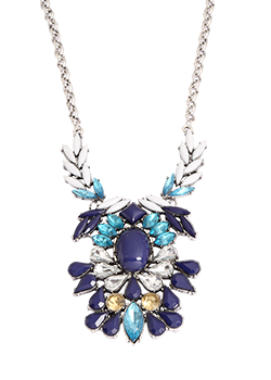 Blue Spark Necklace