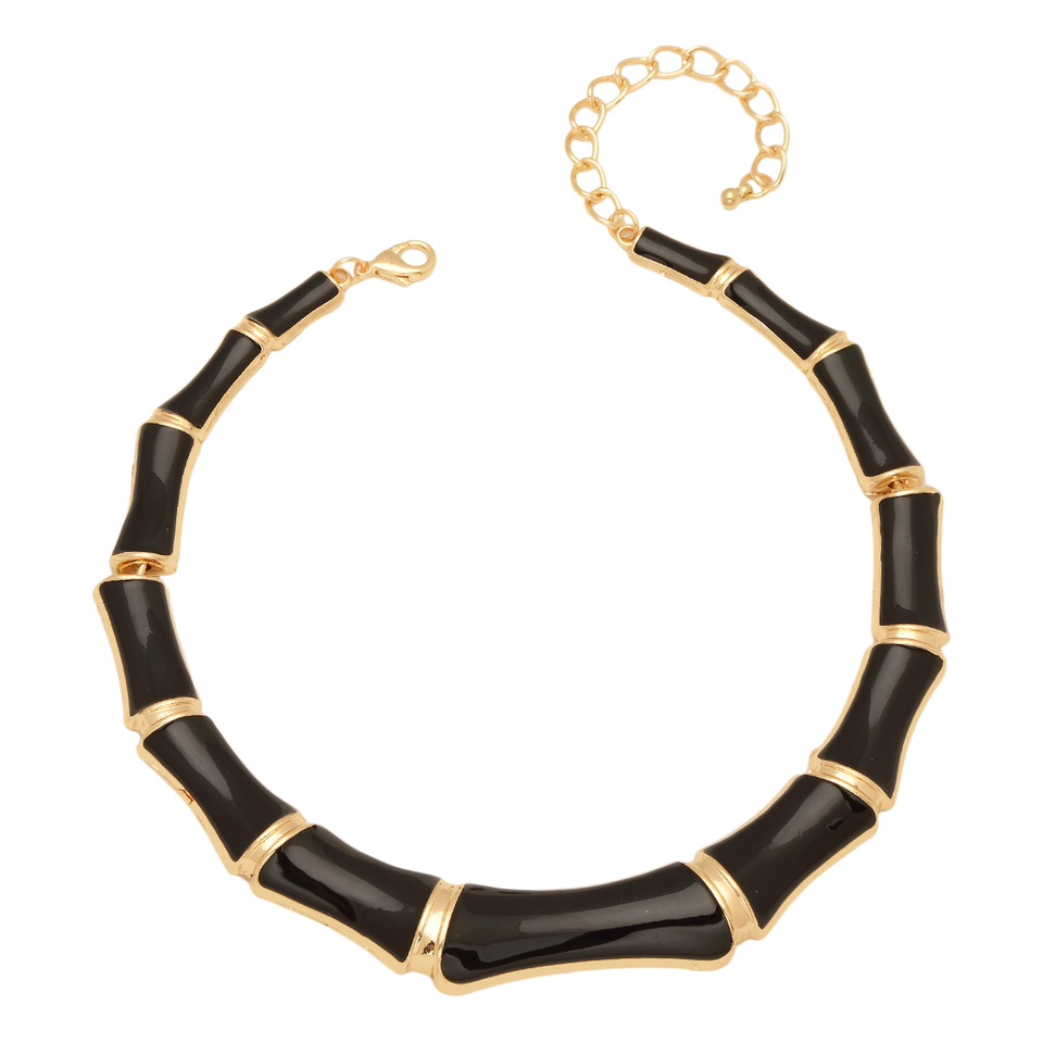 Bamboo Choker Necklace
