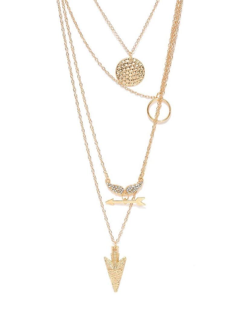 Gold Toned Irina Necklace