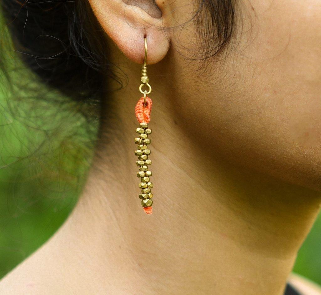 Dhokra Earring Basic