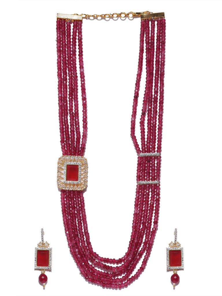 Multilayered Pretty High Quality Medium Necklace Set-ARADHYAA JEWEL ARTS1-Necklace Set