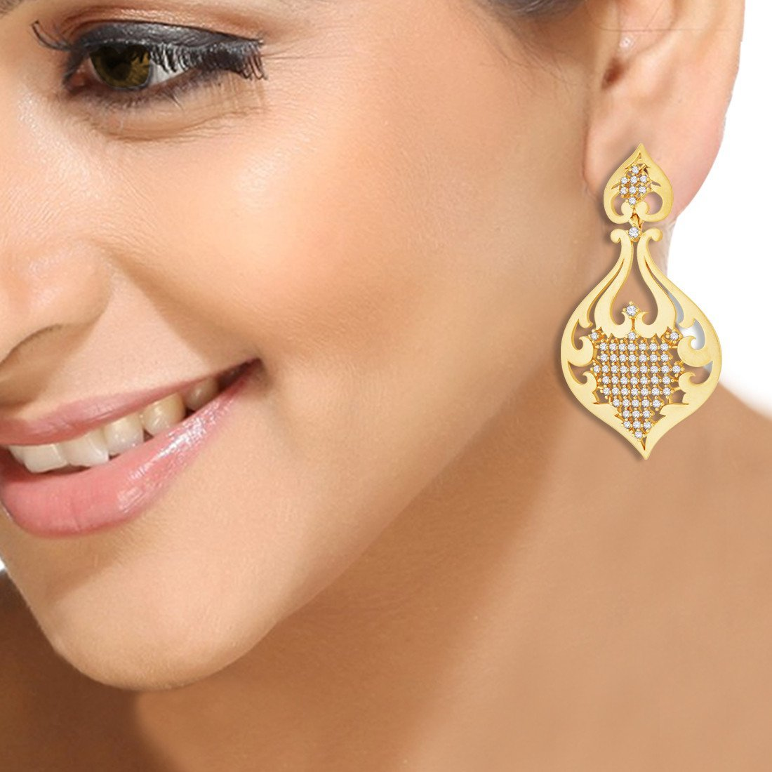 Mughal Lattice Earrings