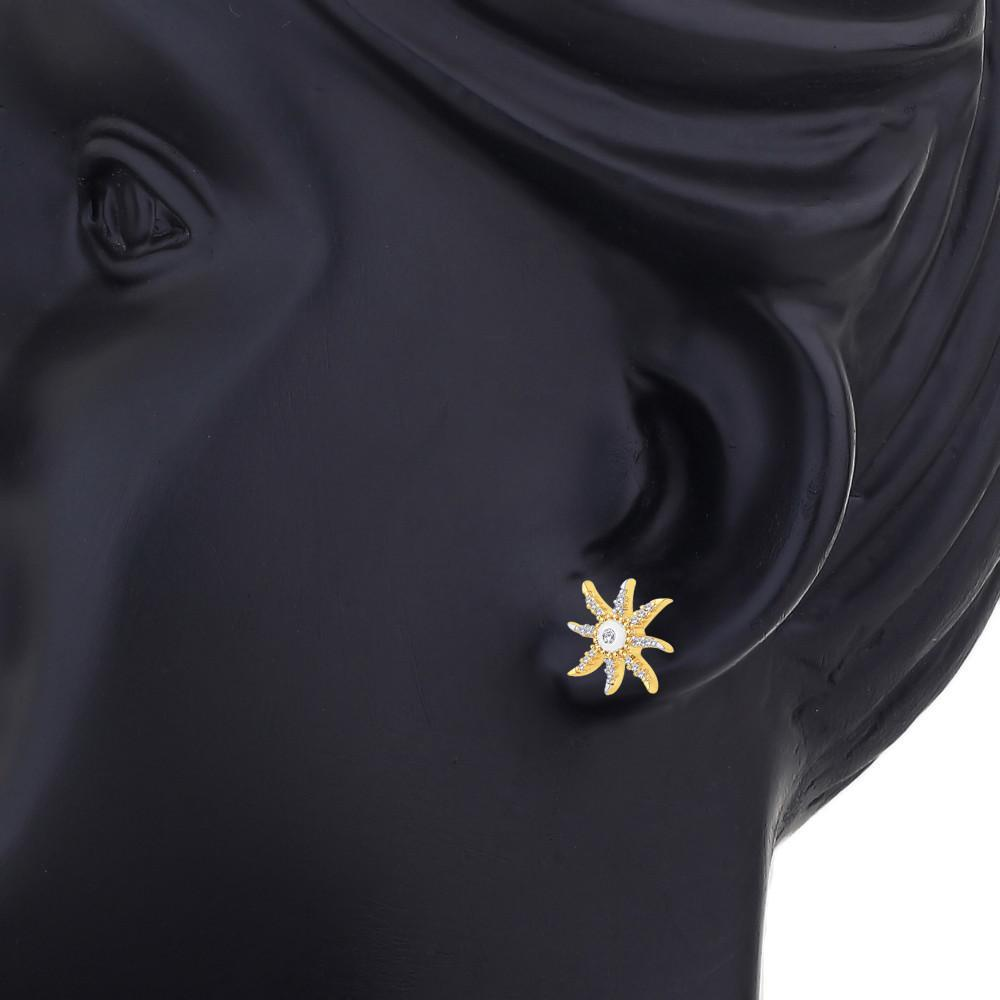 Star Fish Stud Earrings