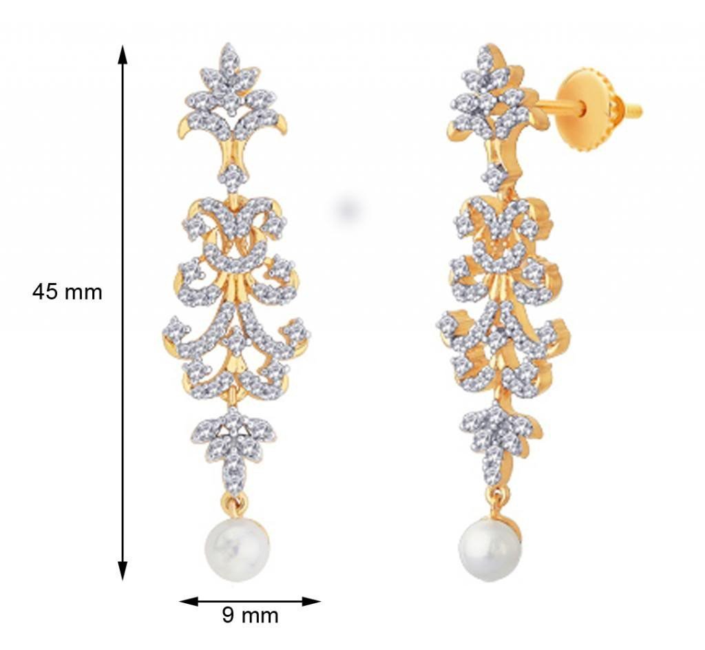 Long Drop Designer Earrings