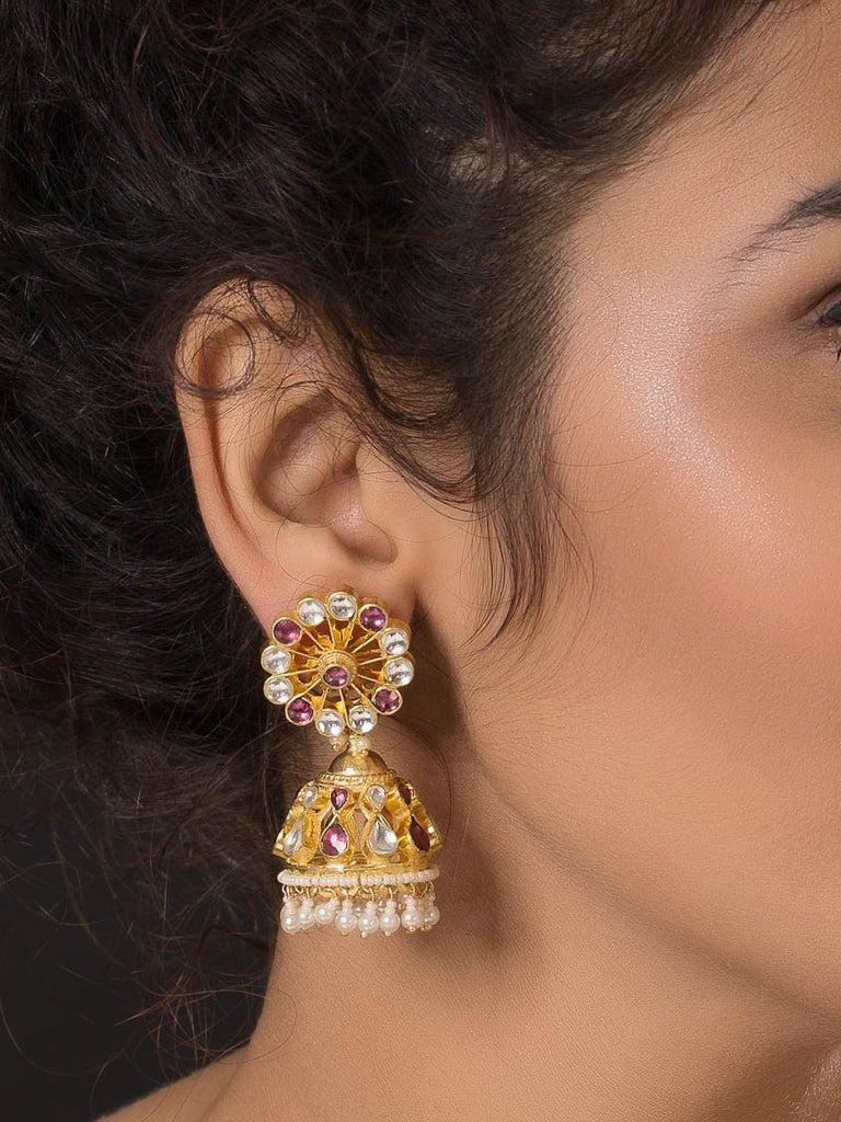 Gold Plated Jhumki