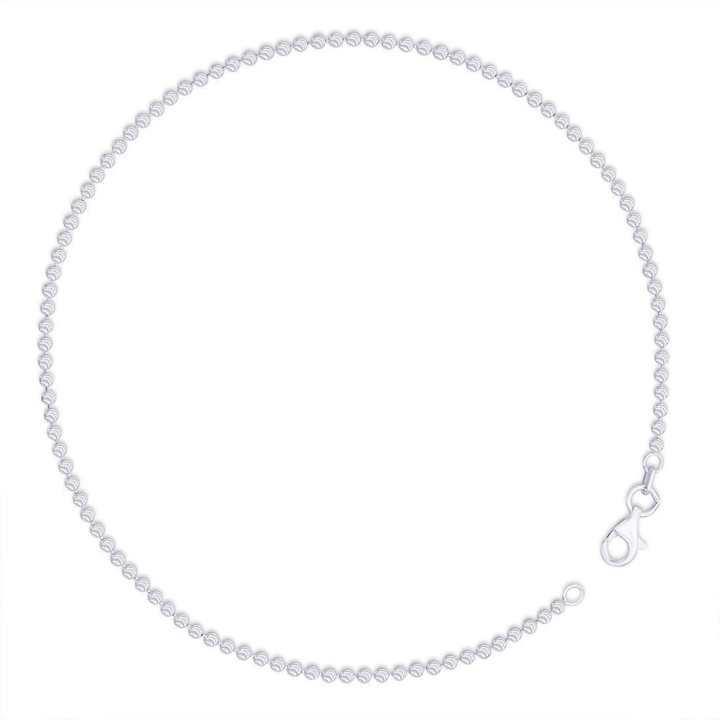 Statement Double Strand Beaded Anklet