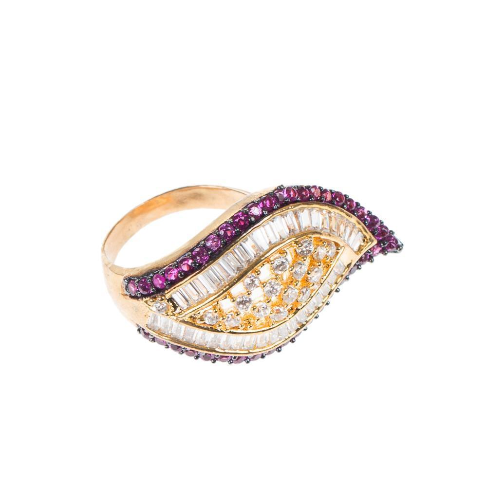 High quality zircon Ring