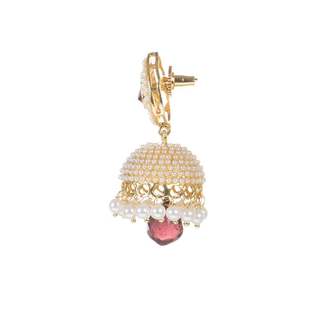 High Quality Golden kundan Earrings