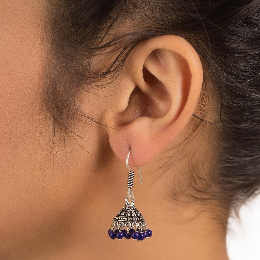 Oxidised Look Fashion Earring