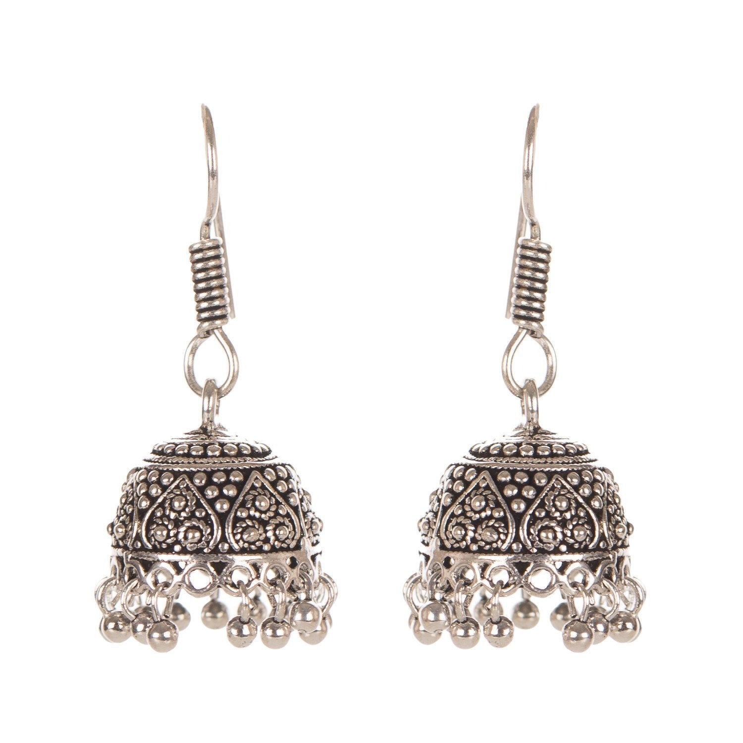 Dull Golden Look Fashion Earring
