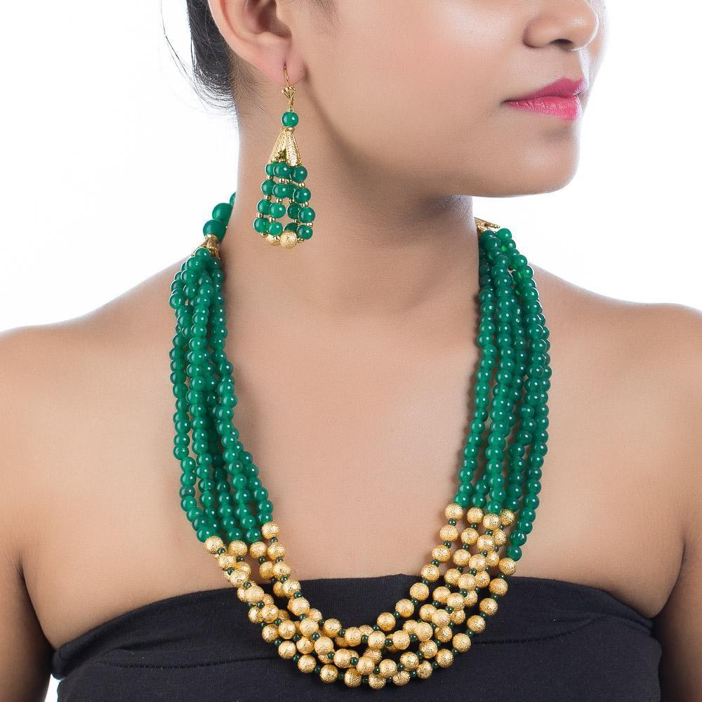 High Quality Beaded Set