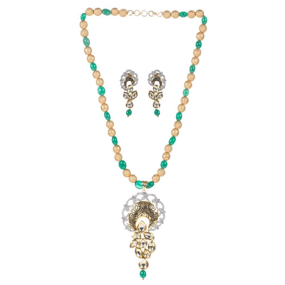 High Quality Golden kundan Set