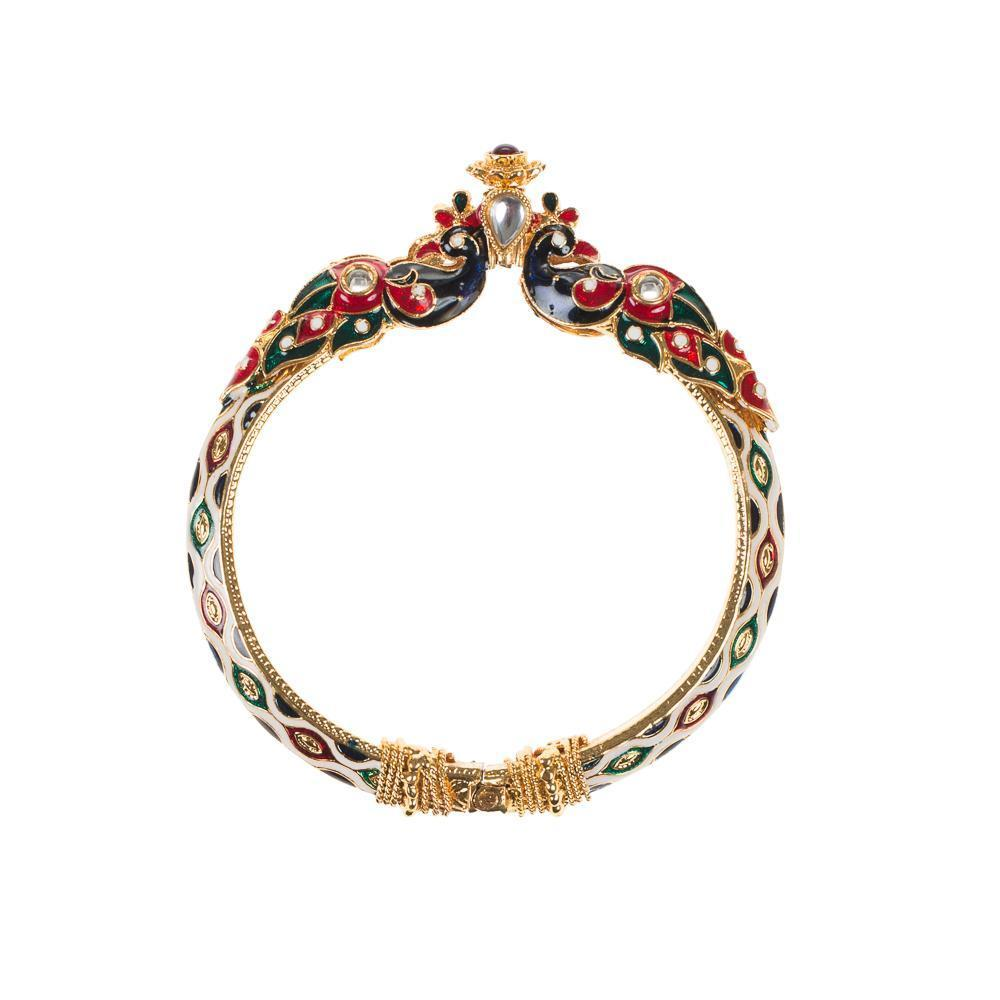 TRADITIONAL MEENA WORK BANGLE SET