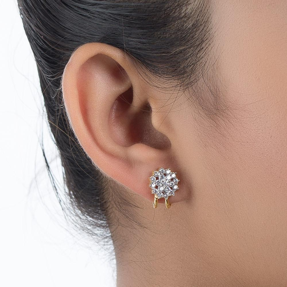 ZIRCON STUDDED EAR CUFF