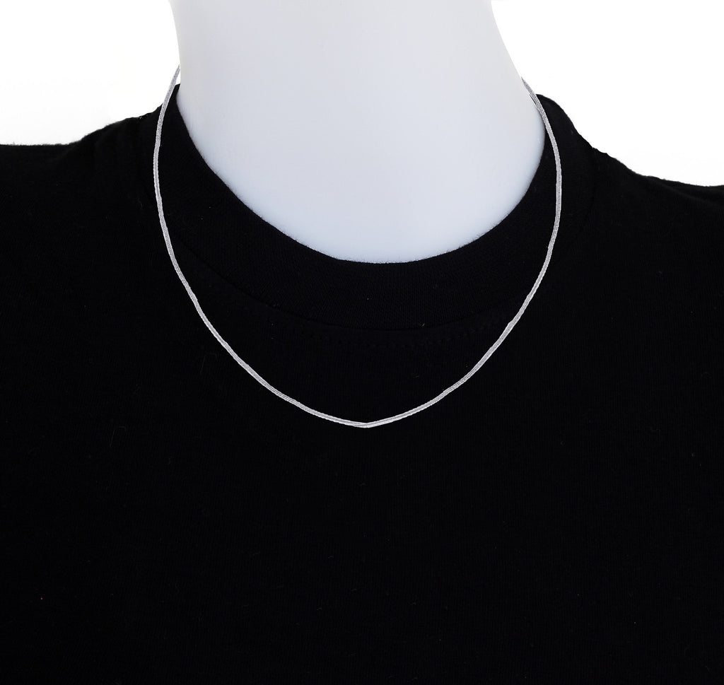 18 Inches Sterling Silver Chain