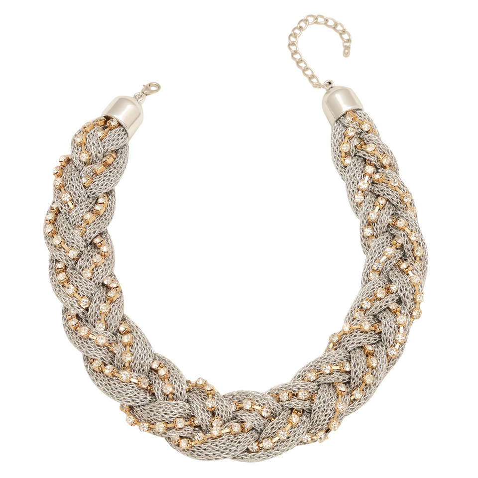 Bling Twist Necklace