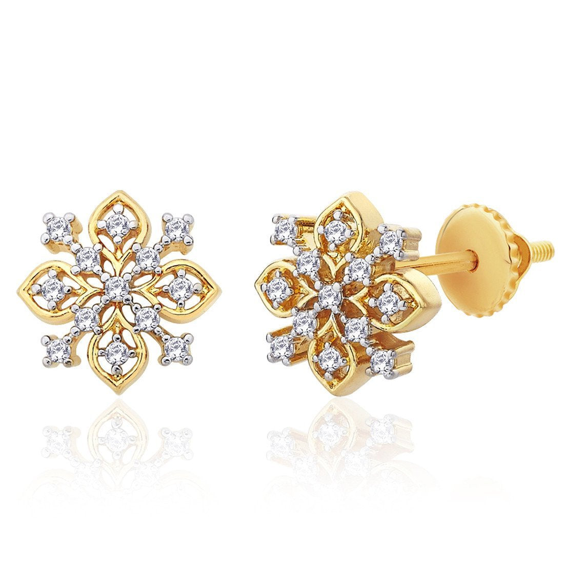 Glamorous Aster Studs
