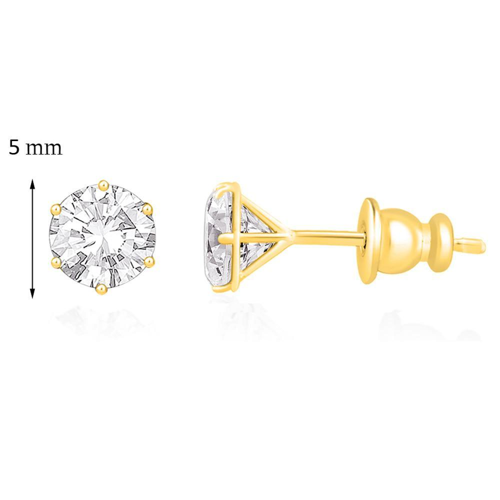 5 Mm Golden Studs