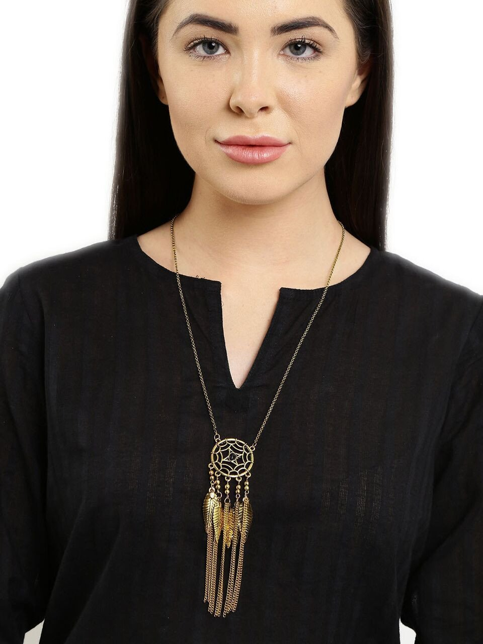 Utopia Fringed Necklace