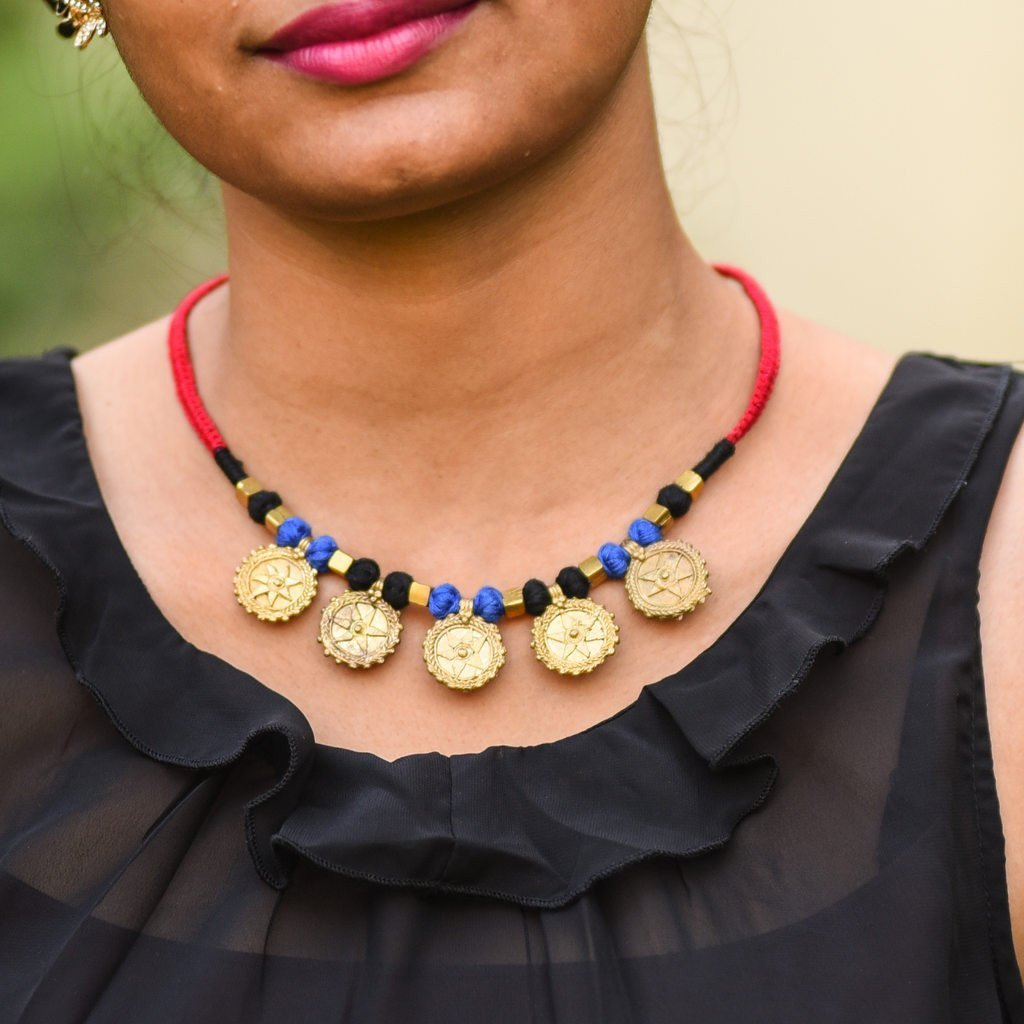 Dhokra Tribal Necklace Allure