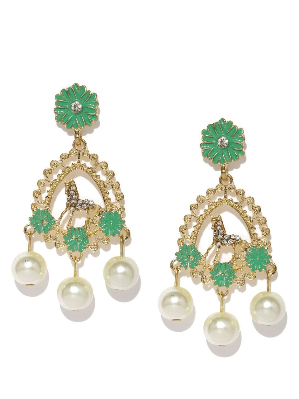 Claudia Mint Earrings