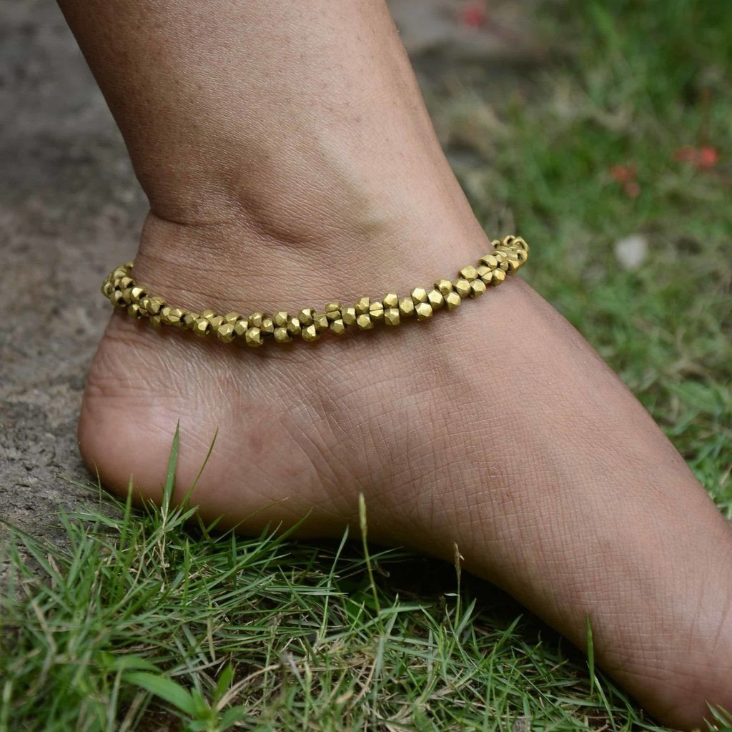Dhokra Anklet Majestic