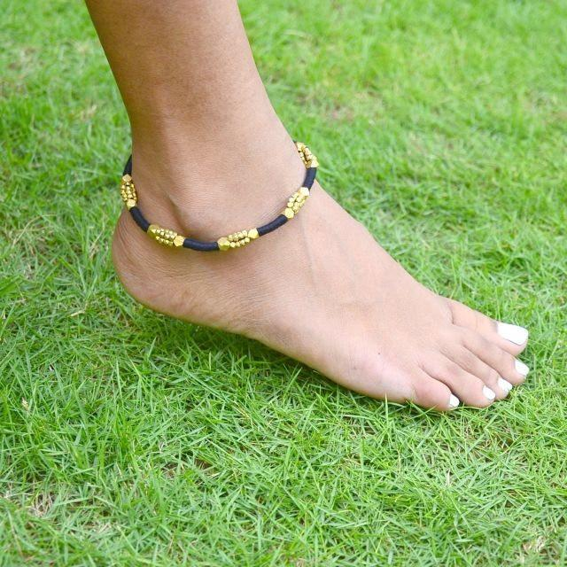 Dhokra Tribal Anklet Beads