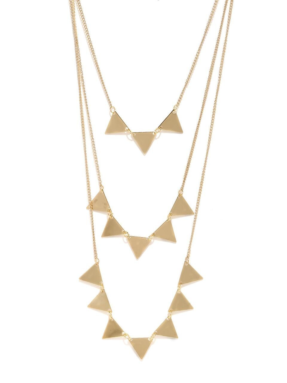 Gold Spiked Coburt Necklace