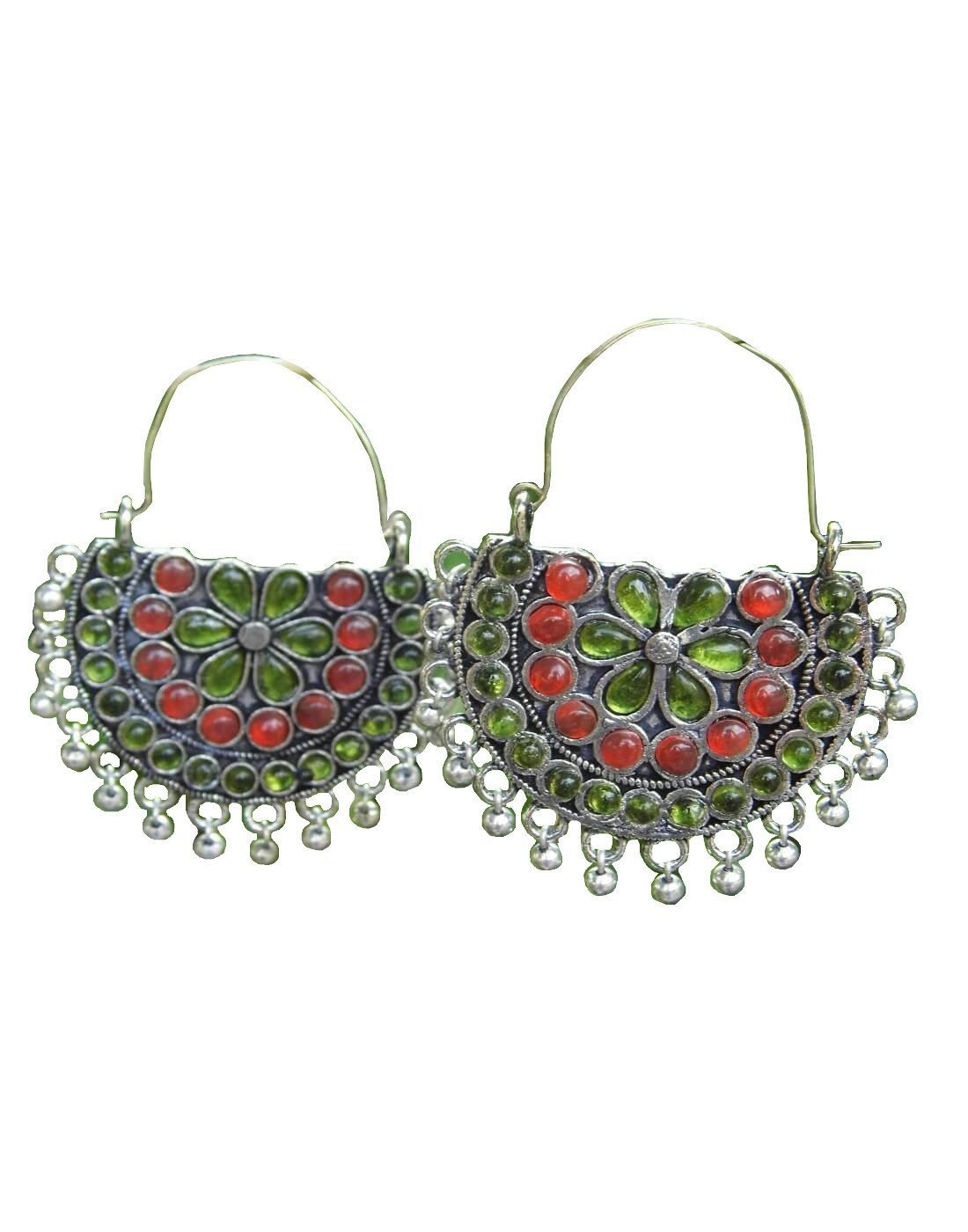 Afghani Earrings/Chandbalis In Alloy Metal 54
