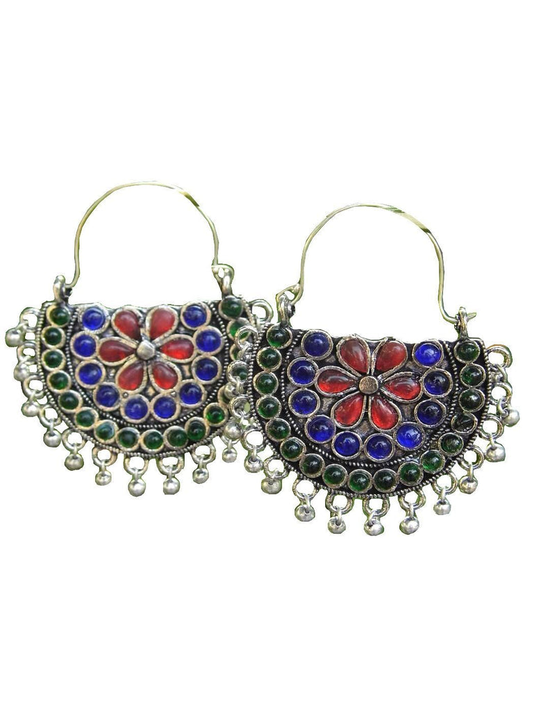 Afghani Earrings/Chandbalis In Alloy Metal 47