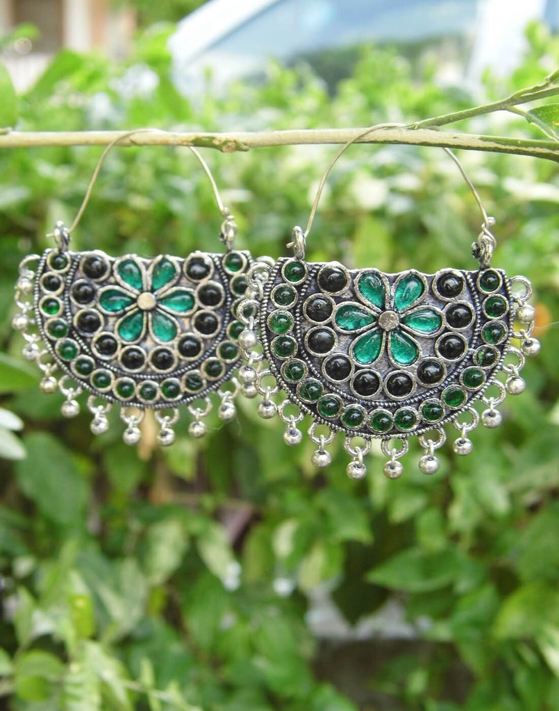 Afghani Earrings/Chandbalis In Alloy Metal 31