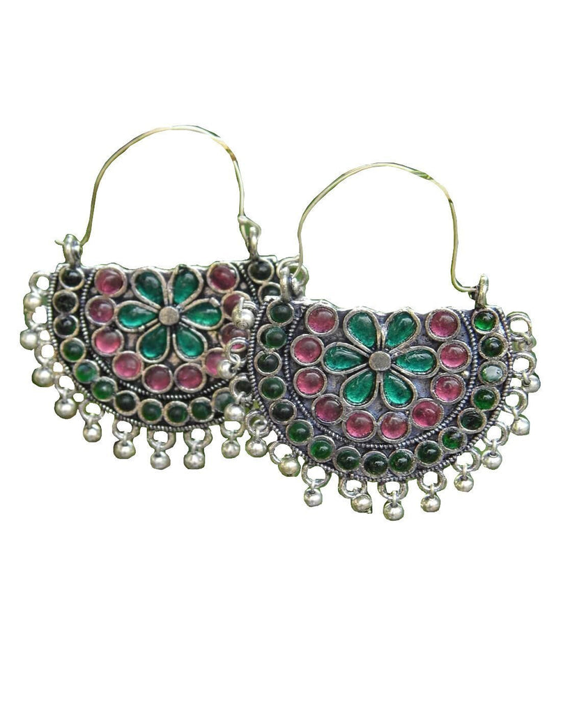 Afghani Earrings/Chandbalis In Alloy Metal 35